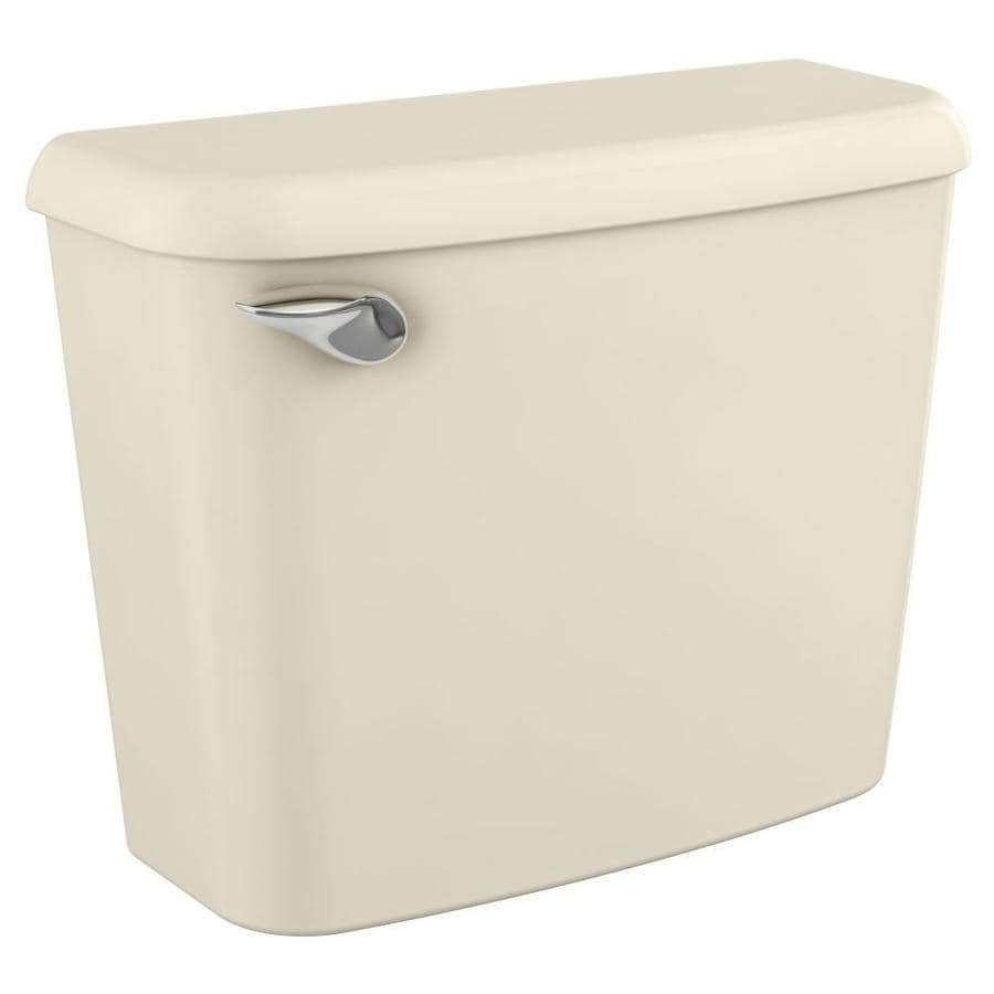 American Standard Colony Bone 1.28-GPF (4.85-LPF) 10-in Rough-In Single-Flush High-Efficiency Toilet Tank