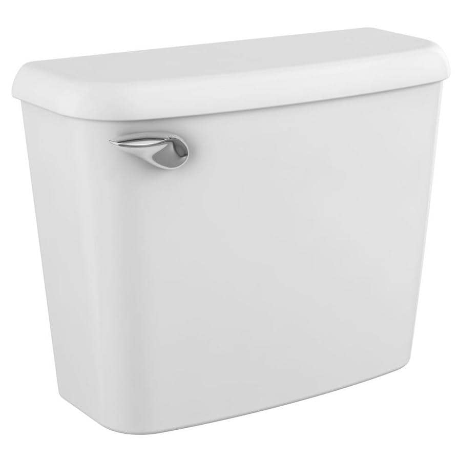 American Standard Colony White 1.28-GPF (4.85-LPF) 10-in Rough-In Single-Flush High-Efficiency Toilet Tank
