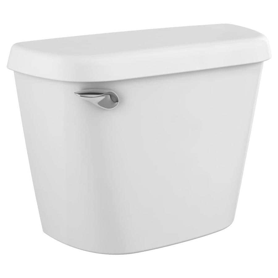 American Standard Colony White 1.28-GPF (4.85-LPF) 12-in Rough-In Single-Flush High-Efficiency Toilet Tank