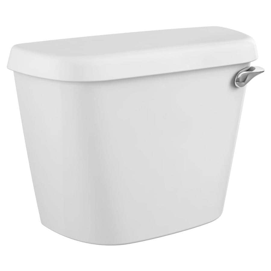 American Standard Colony White 1.6-GPF (6.06-LPF) 12-in Rough-In Single-Flush Toilet Tank