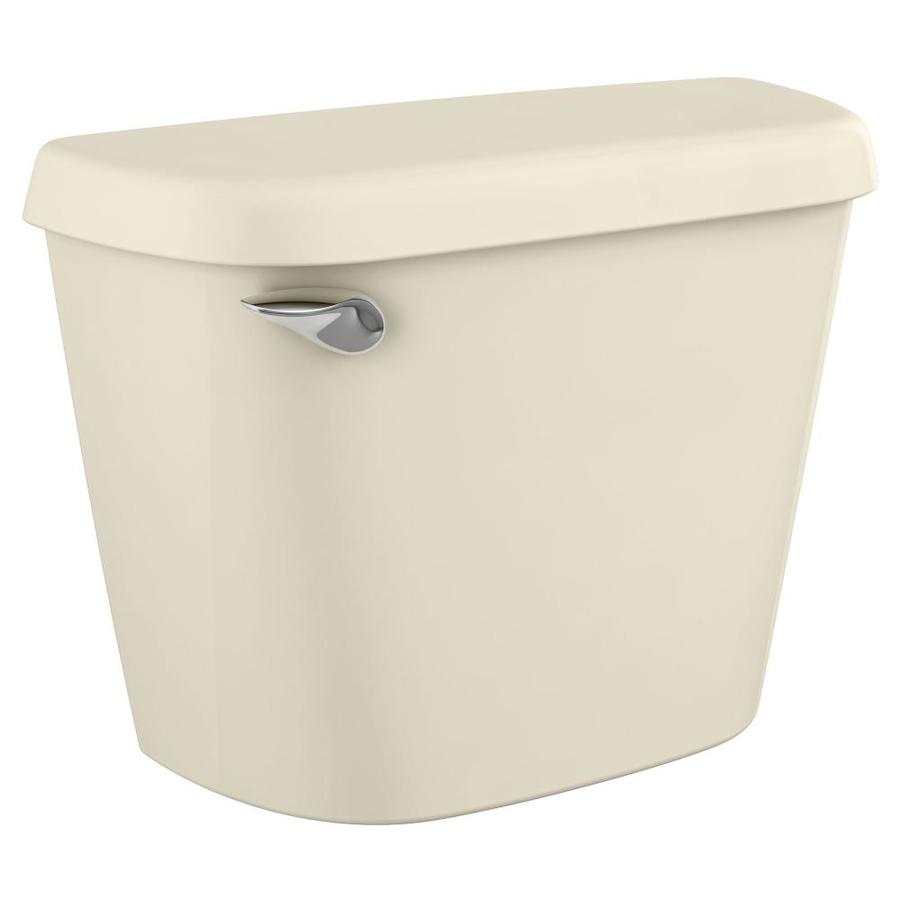 American Standard Colony Bone 1.28-GPF (4.85-LPF) 12-in Rough-In Single-Flush High-Efficiency Toilet Tank