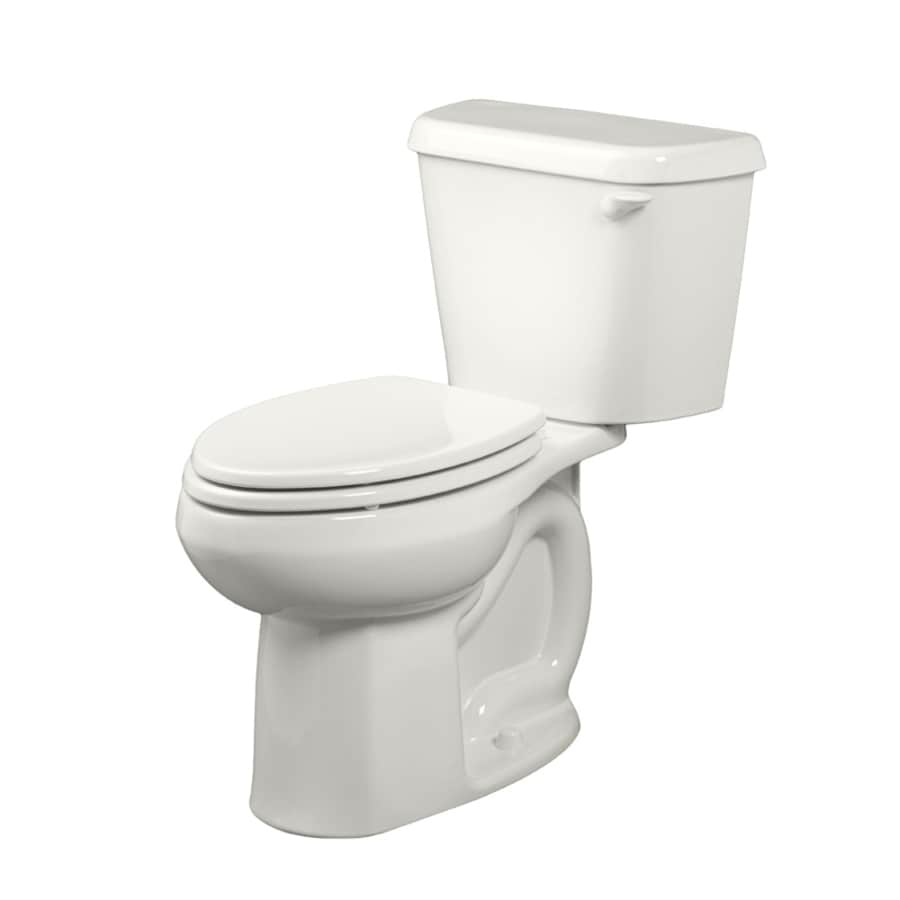American Standard Colony White WaterSense Labeled  Elongated Chair Height 2-piece Toilet 12-in Rough-In Size