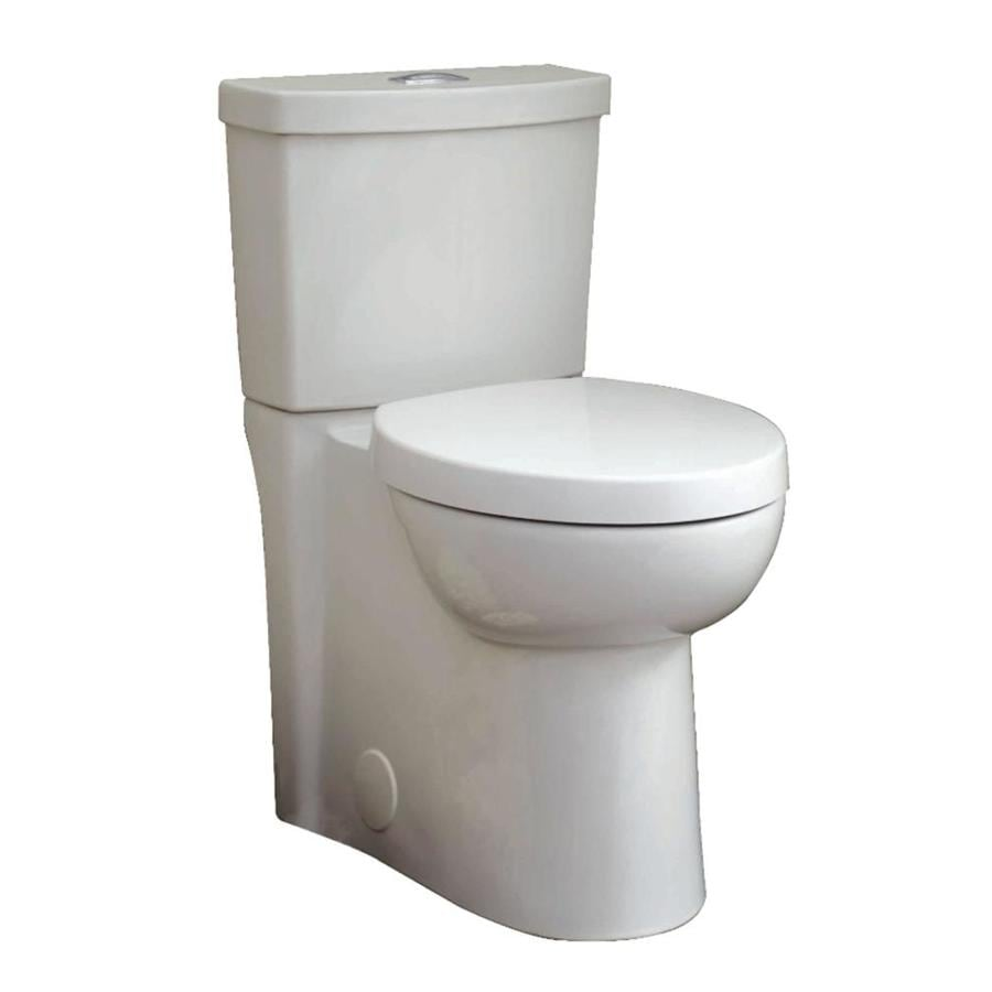 American Standard Clean 1.6; 1.1-GPF (6.06; 4.16-LPF) White Dual Flush Elongated Chair Height 2-piece Toilet