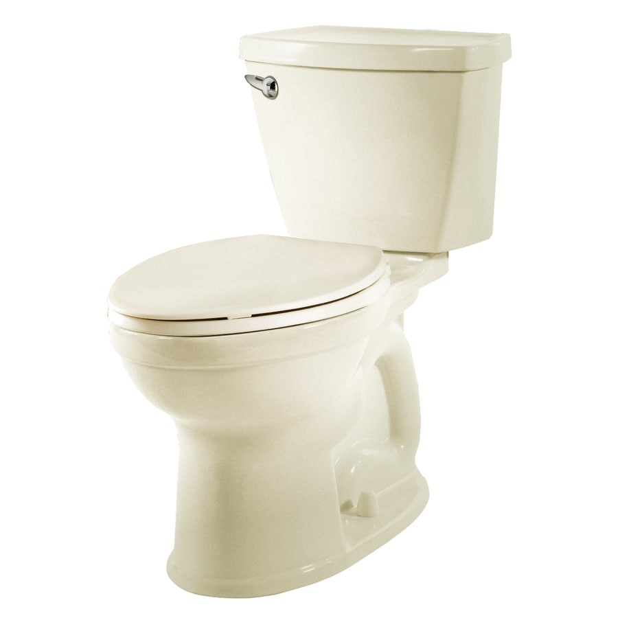 American Standard Champion 4 Off-White 1.28-GPF (4.85-LPF) 12 Rough-In WaterSense Elongated 2-Piece Chair Height Toilet