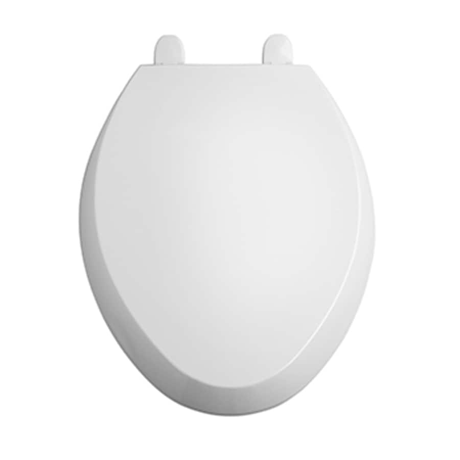American Standard Toilet Seats >> Shop American Standard Encompass Plastic Elongated Slow-Close Toilet Seat at Lowes.com