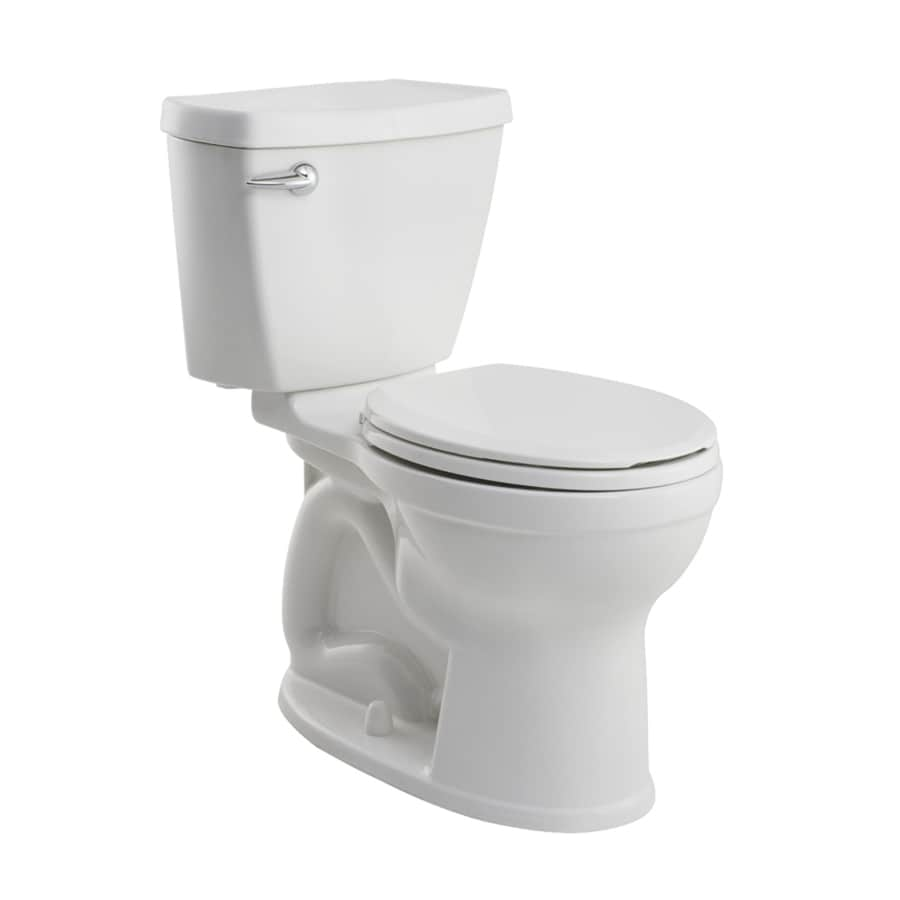 American Standard Champion 4 1.28-GPF (4.85-LPF) White Round Chair Height 2-piece Toilet