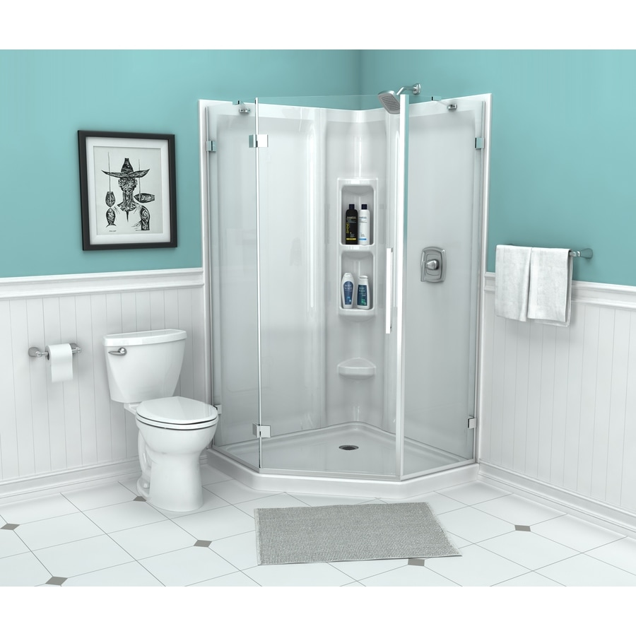 Small Bathroom With Frameless Shower: Shop American Standard Axis 27.875-in To 27.875-in