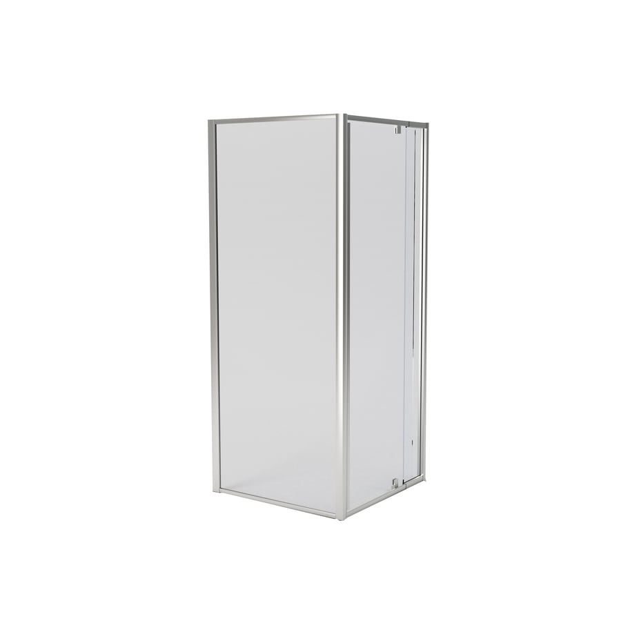 American Standard Axis Framed Silver Shower Door