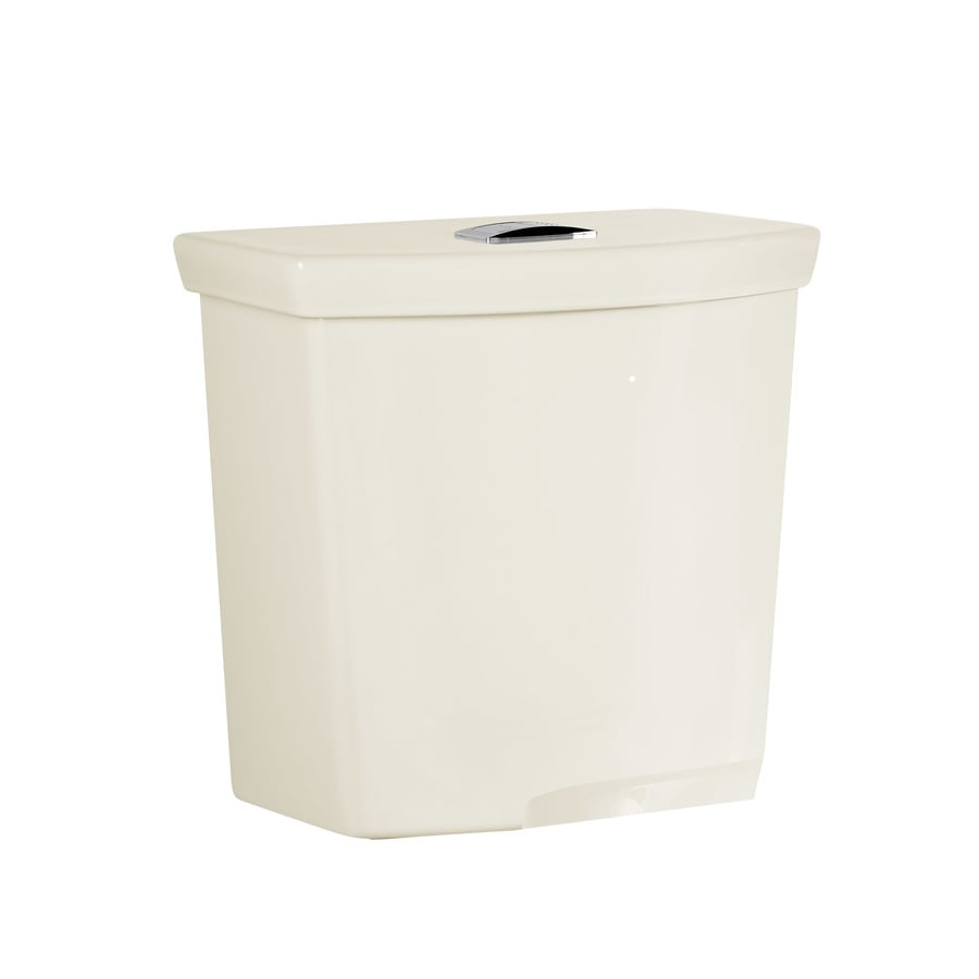 American Standard H2Option Linen 1.1-GPF (4.16-LPF) 12 Rough-In Dual-Flush High-Efficiency Toilet Tank