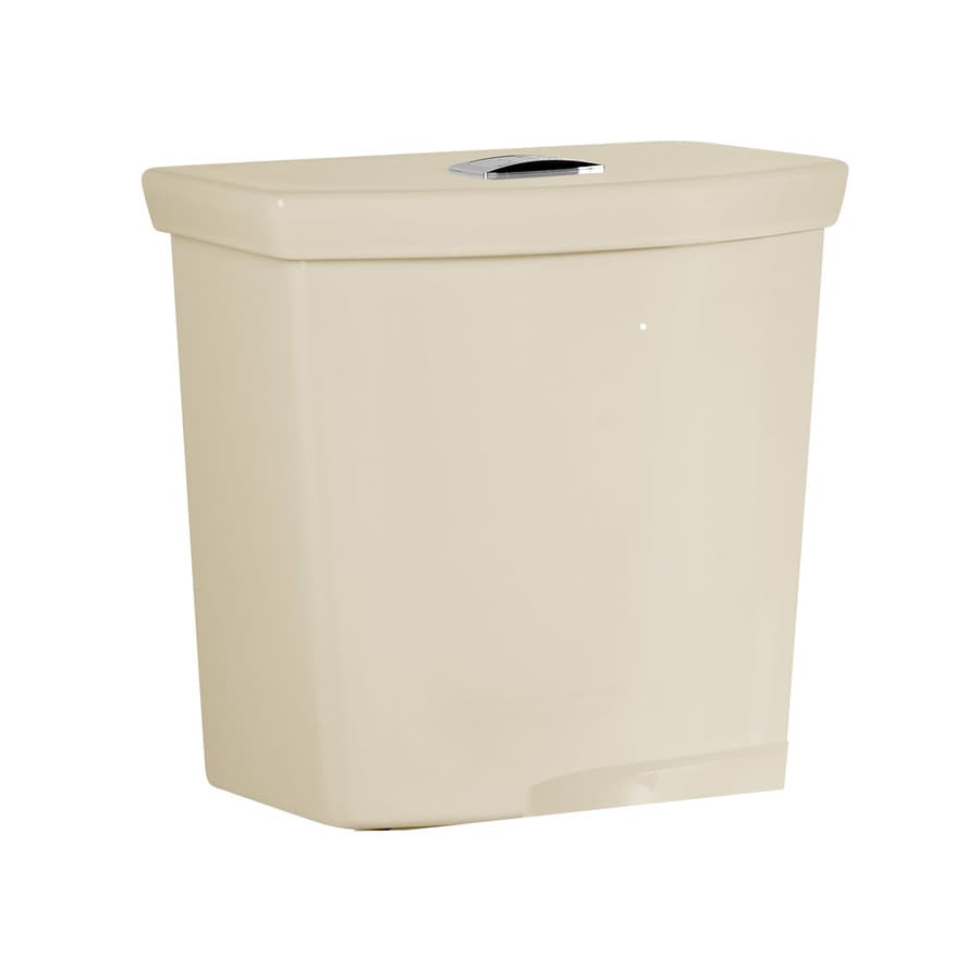 American Standard H2Option Bone 1.1-GPF (4.16-LPF) 12 Rough-In Dual-Flush High-Efficiency Toilet Tank