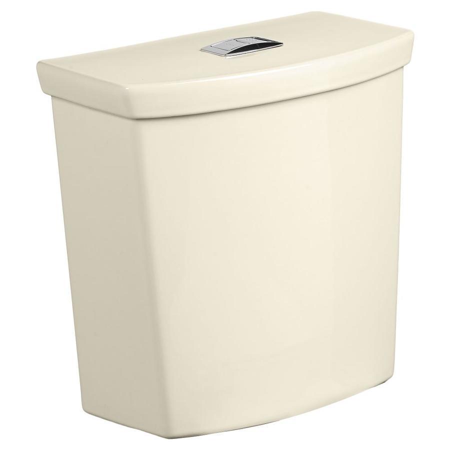 American Standard H2Option Bone 1.1-GPF (4.16-LPF) 12 Rough-In Dual-Flush High-Efficiency Toilet Tank