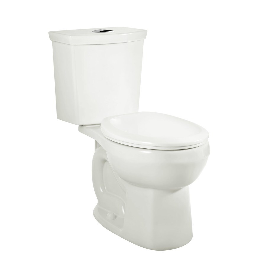 American Standard H2Option White 1.28-GPF 12 Rough-In WaterSense Elongated Dual-Flush 2-Piece Standard Height Toilet