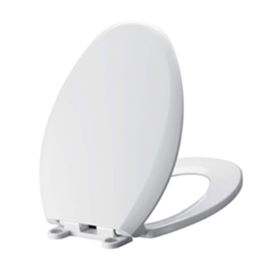 American Standard Mainstream Plastic Elongated Slow-Close Toilet Seat