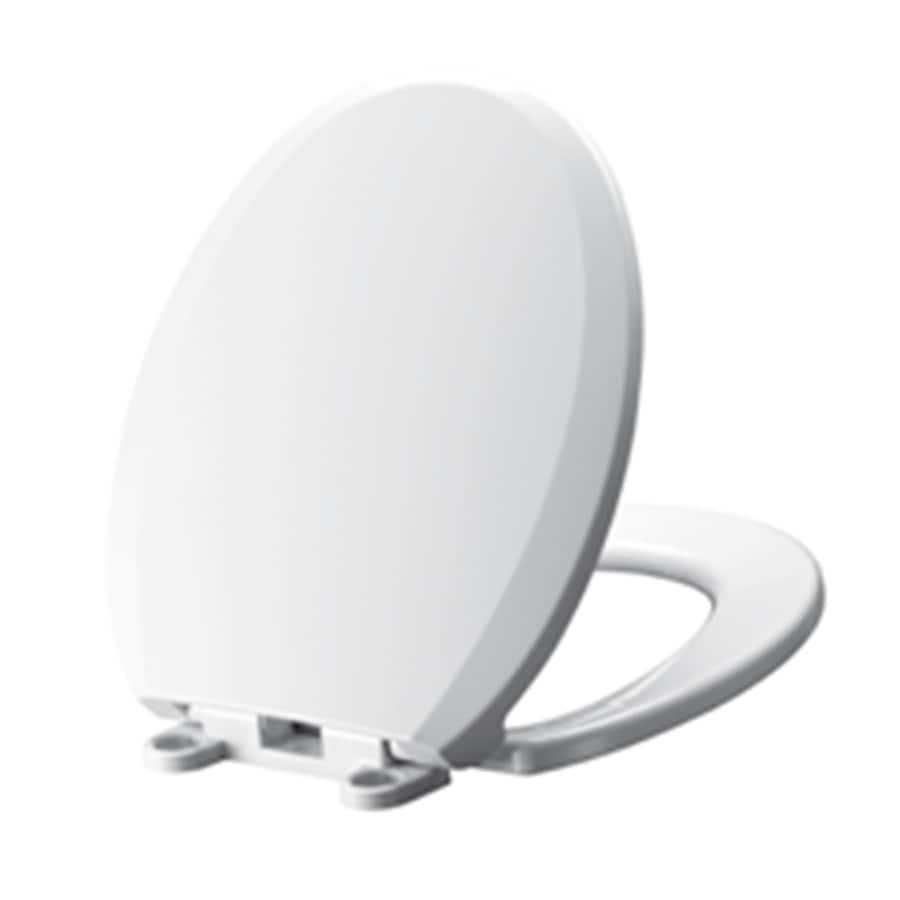 American Standard Mainstream Plastic Round Slow-Close Toilet Seat