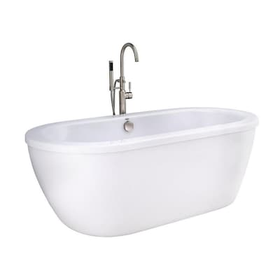 American Standard Cadet Free Standing Tub W Sn Tub Filler