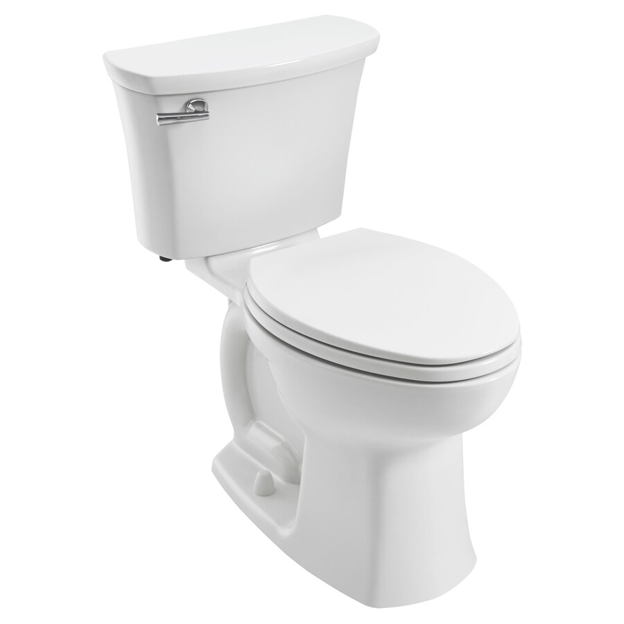 American Standard Edgemere 1.28-GPF (4.85-LPF) White Elongated Chair Height 2-piece Toilet