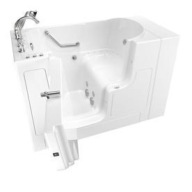 American Standard 52 In Gelcoat/Fiberglass Walk In Whirlpool Tub And Air  Bath