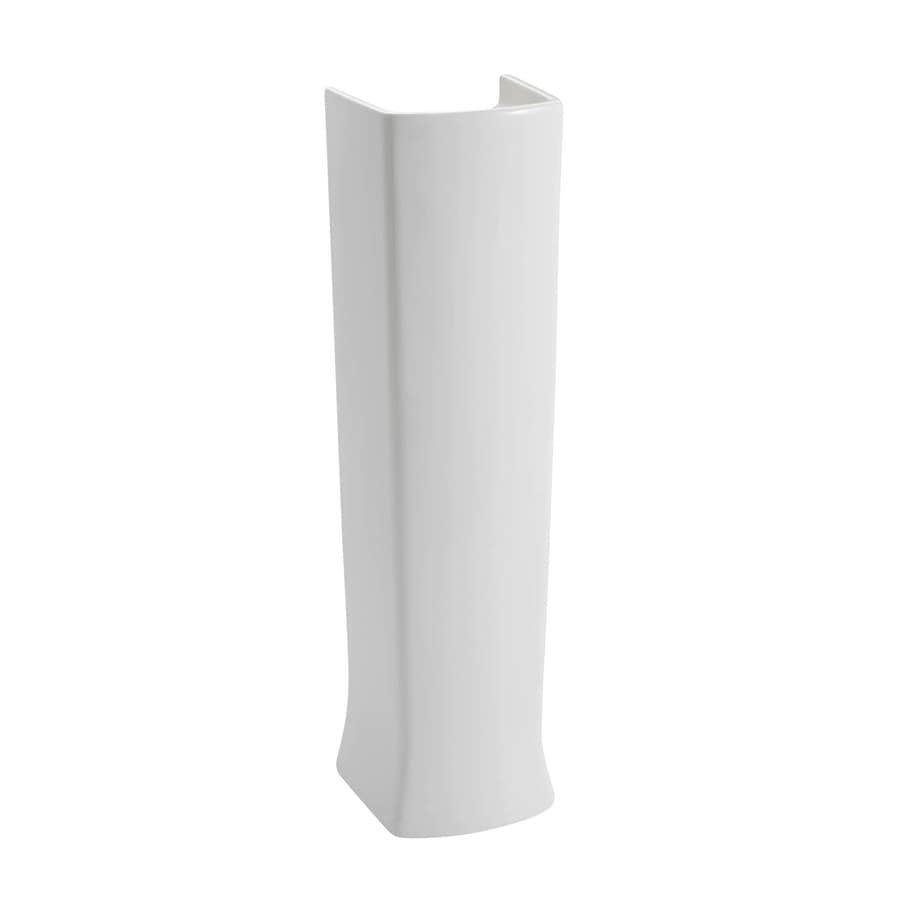 American Standard Townsend 29.625-in H White Fireclay Pedestal Sink Base