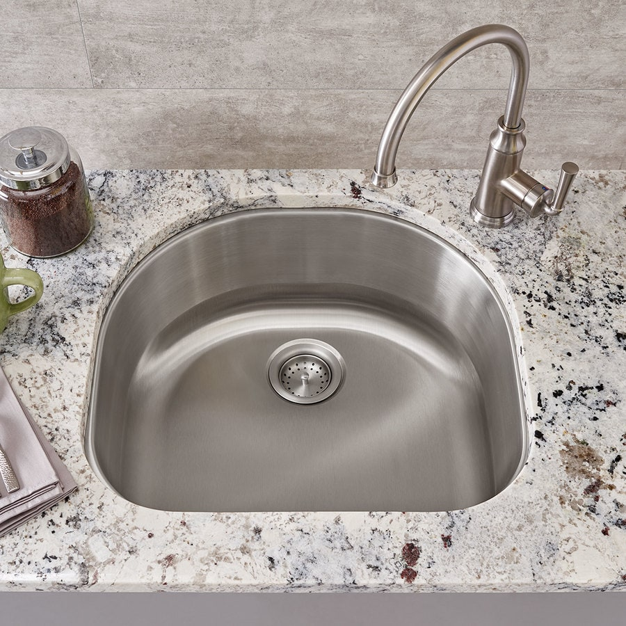 American Standard 21.0-in x 23.125-in Single-Basin Stainless Steel Undermount Residential Kitchen Sink