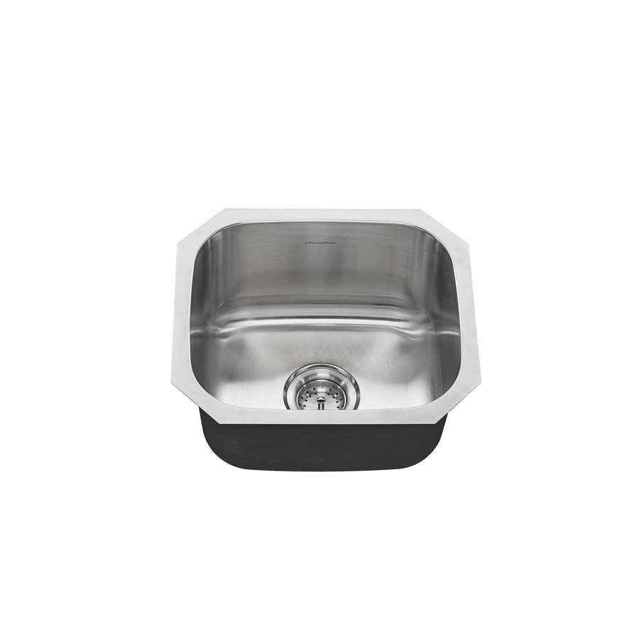 American Standard 16-in x 17.875-in Stainless Steel Single-Basin Undermount Residential Kitchen Sink