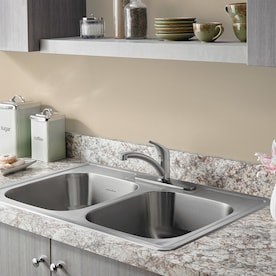 American Standard Stainless Steel Kitchen Sinks At Lowes Com