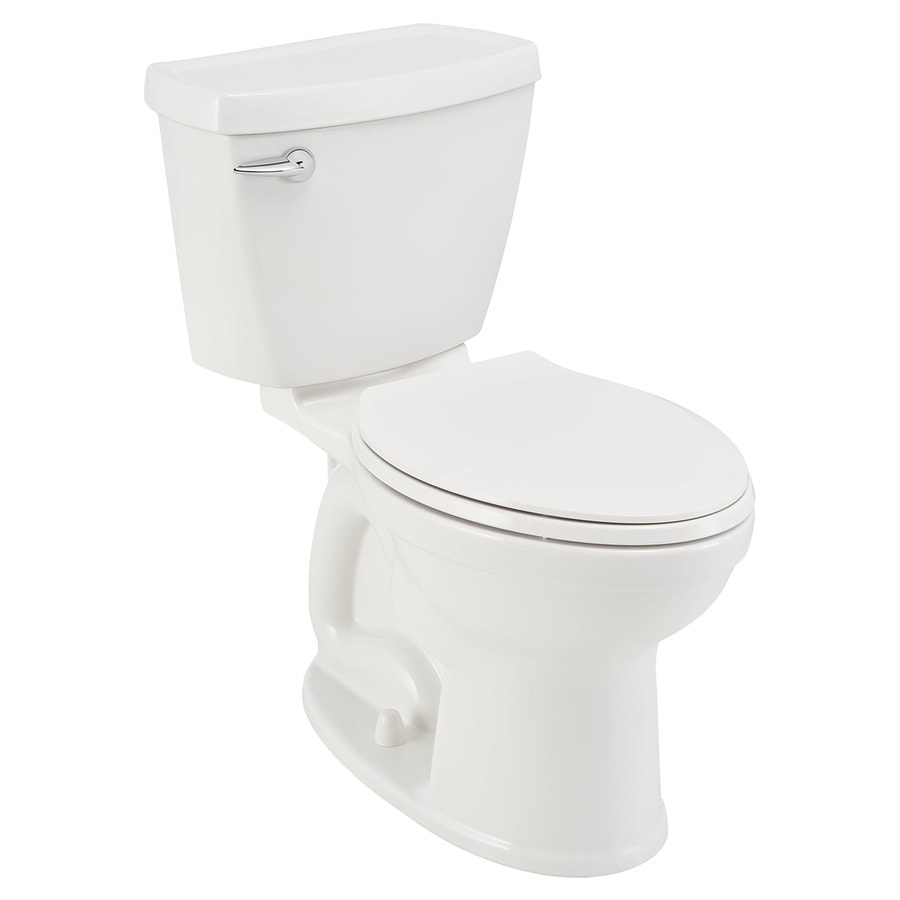 American Standard Champion White  Elongated Chair Height 2-piece Toilet 12-in Rough-In Size
