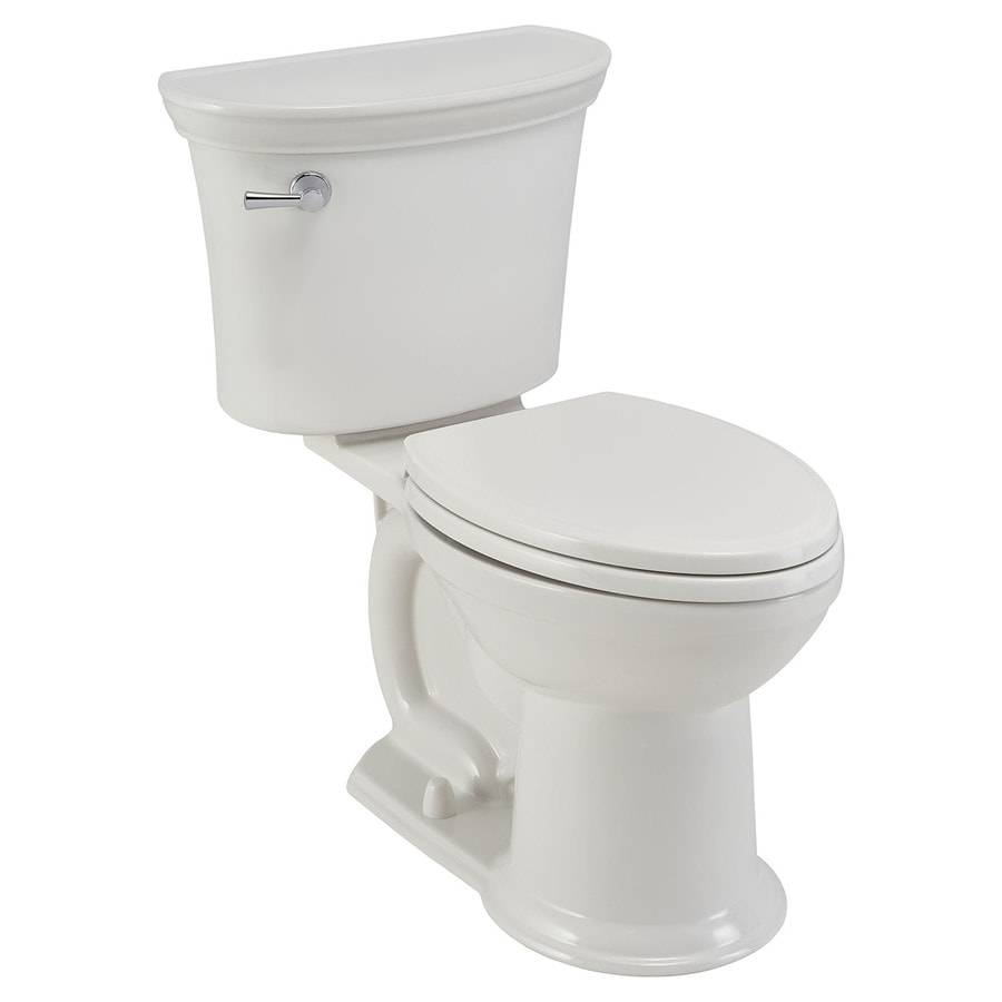 American Standard Esteem Vormax White Watersense Labeled Elongated Chair Height 2 Piece Toilet 12
