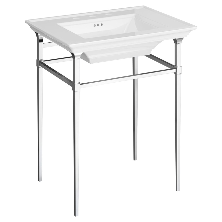American standard town square s 24 5 in polished chrome - American standard bathroom cabinets ...
