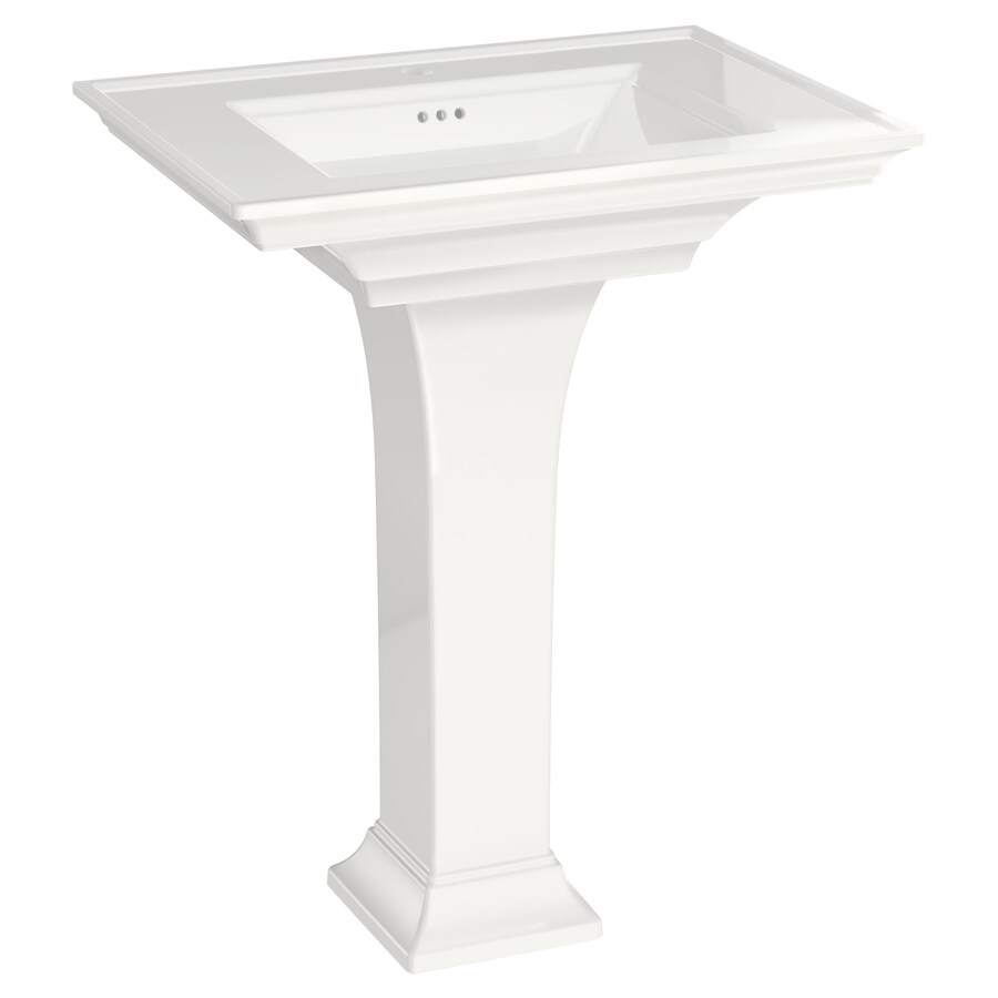 American Standard Town Square S 35 0 In H White Fire Clay
