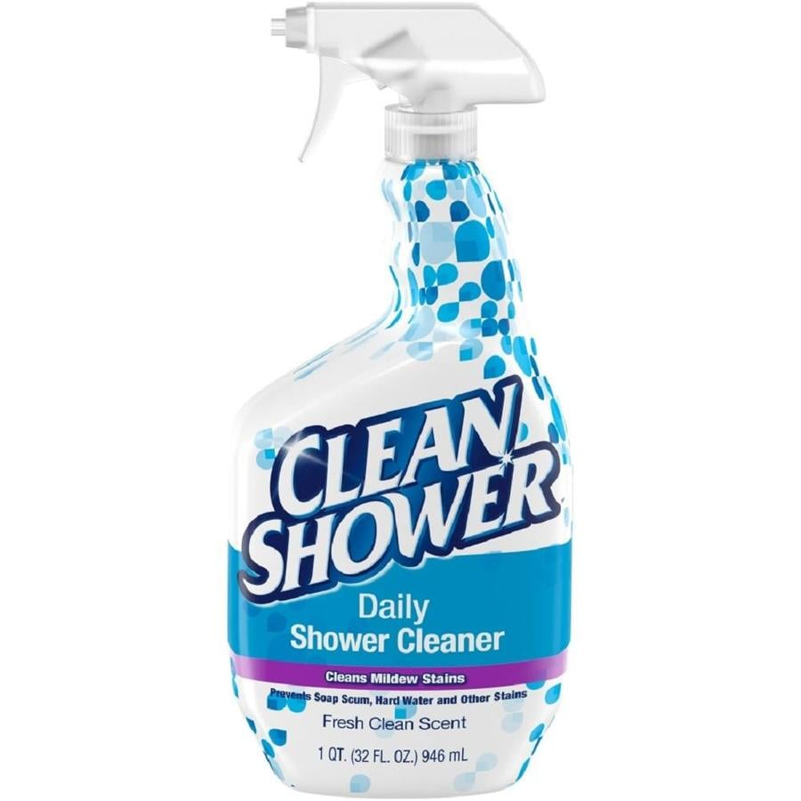Shop Clean Shower 32 Fl Oz Shower And Bathtub Cleaner At