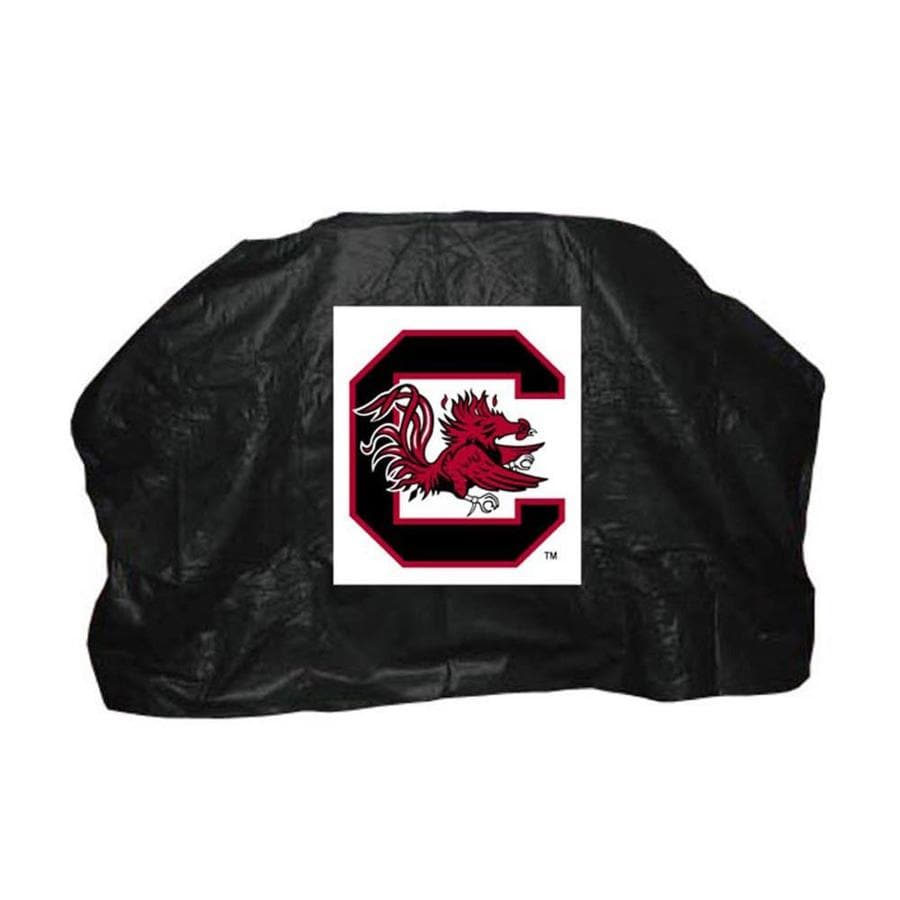 Seasonal Designs, Inc. 59-in x 42-in Vinyl South Carolina Gamecocks Grill Cover Fits Most Universal