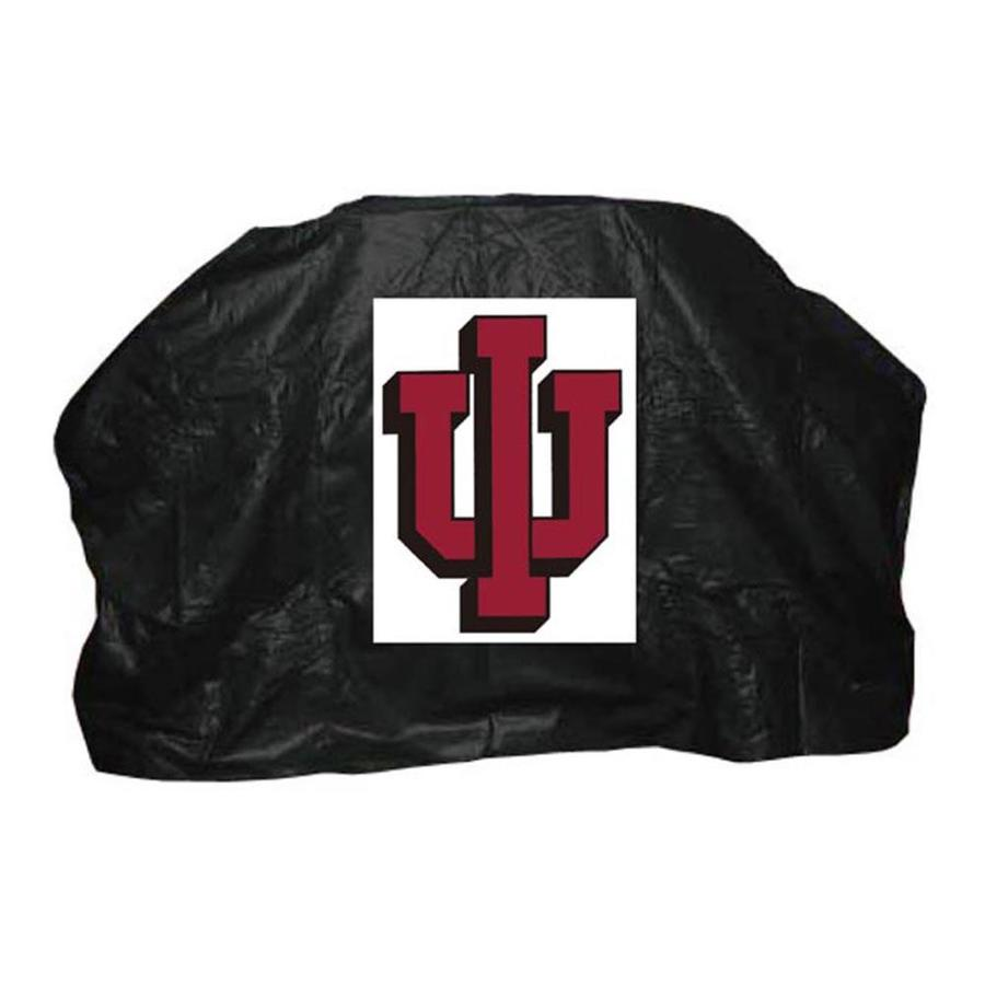 Seasonal Designs, Inc. 59-in x 42-in Vinyl Indiana Hoosiers Grill Cover Fits Most Universal