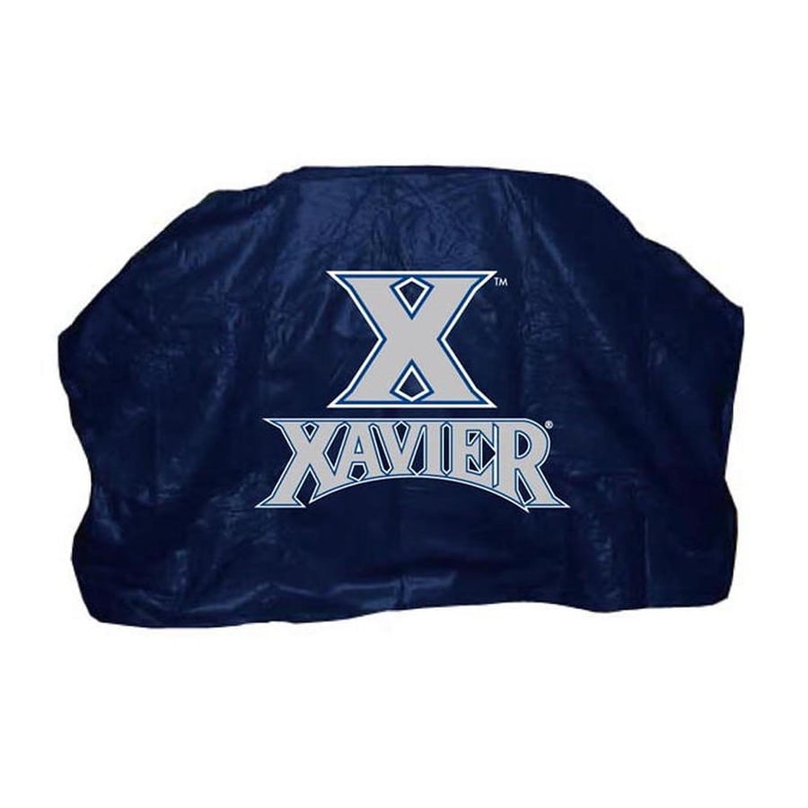 Seasonal Designs, Inc. 59-in x 42-in Blue Vinyl Xavier Musketeers Cover