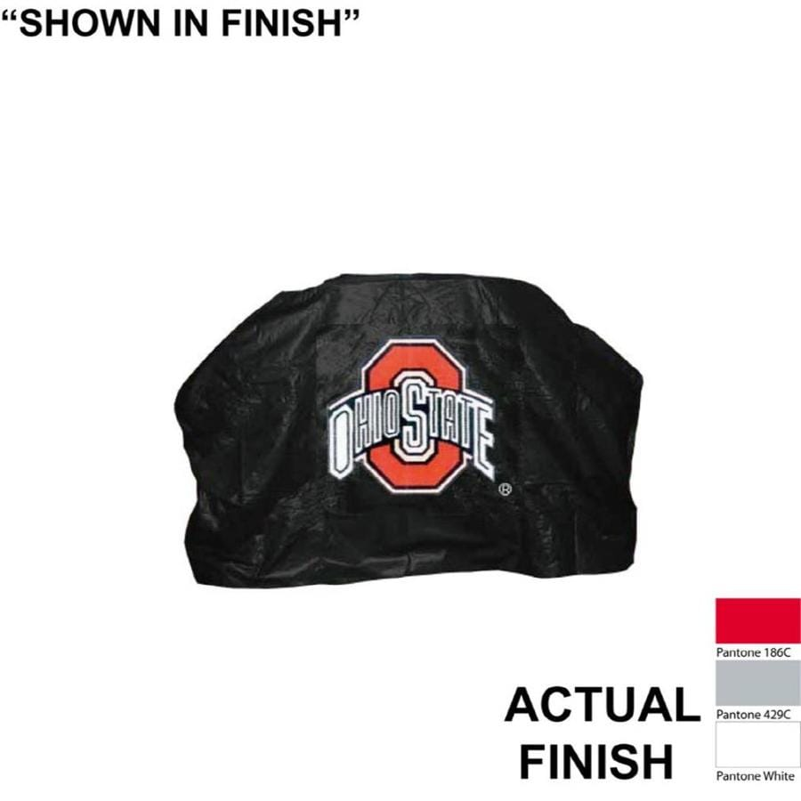 Seasonal Designs, Inc. 68-in x 43-in Vinyl Ohio State Buckeyes Cover