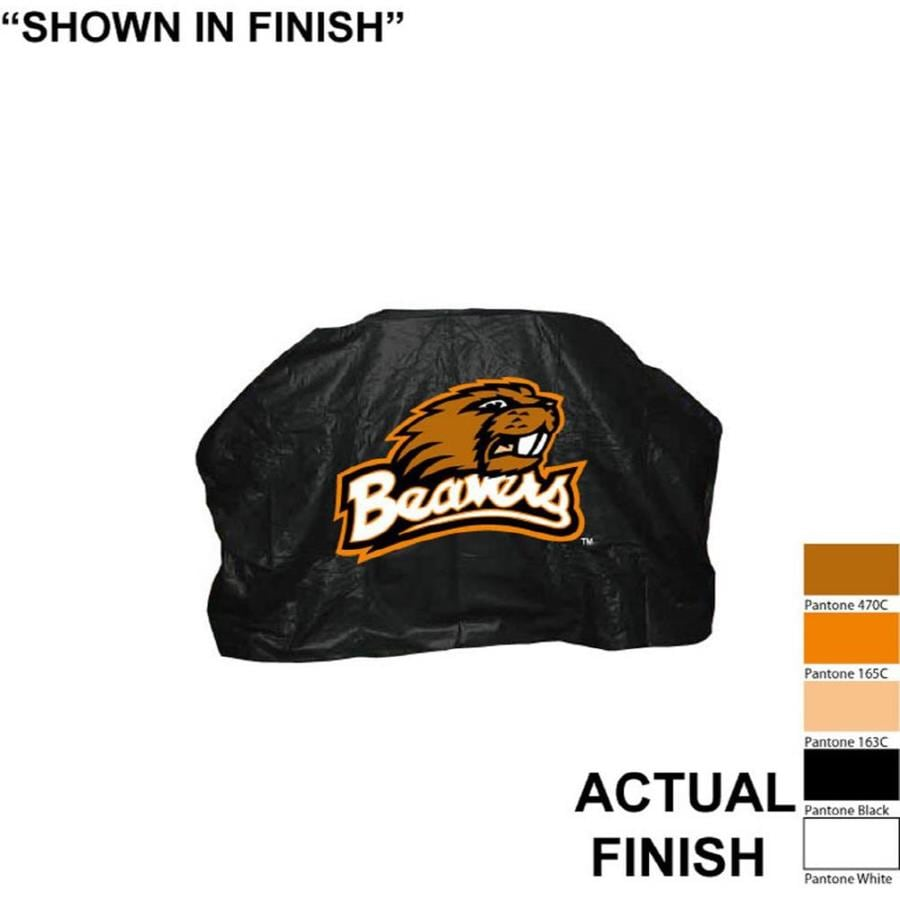 Seasonal Designs, Inc. 68-in x 43-in Vinyl Oregon State Beavers Grill Cover Fits Most Universal