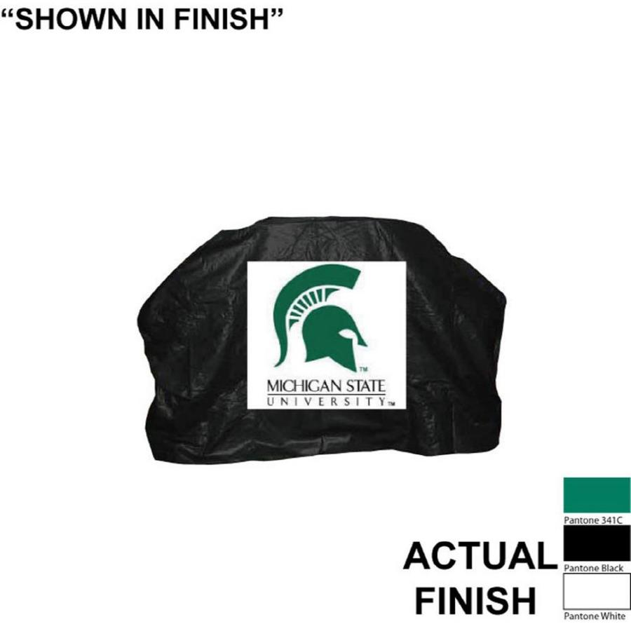 Seasonal Designs, Inc. 68-in x 43-in Vinyl Michigan State Spartans Cover