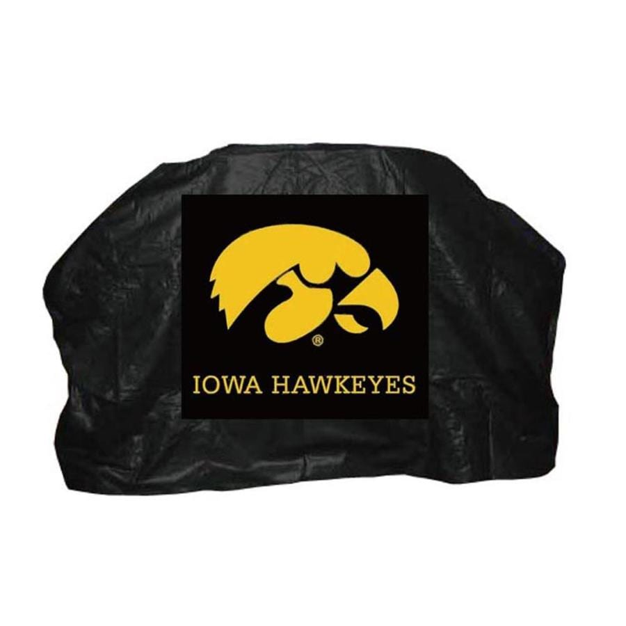 Seasonal Designs, Inc. 68-in x 43-in Vinyl Iowa Hawkeyes Cover