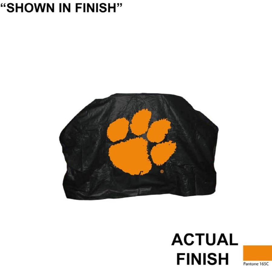 Seasonal Designs, Inc. 68-in x 43-in Vinyl Clemson Tigers Cover