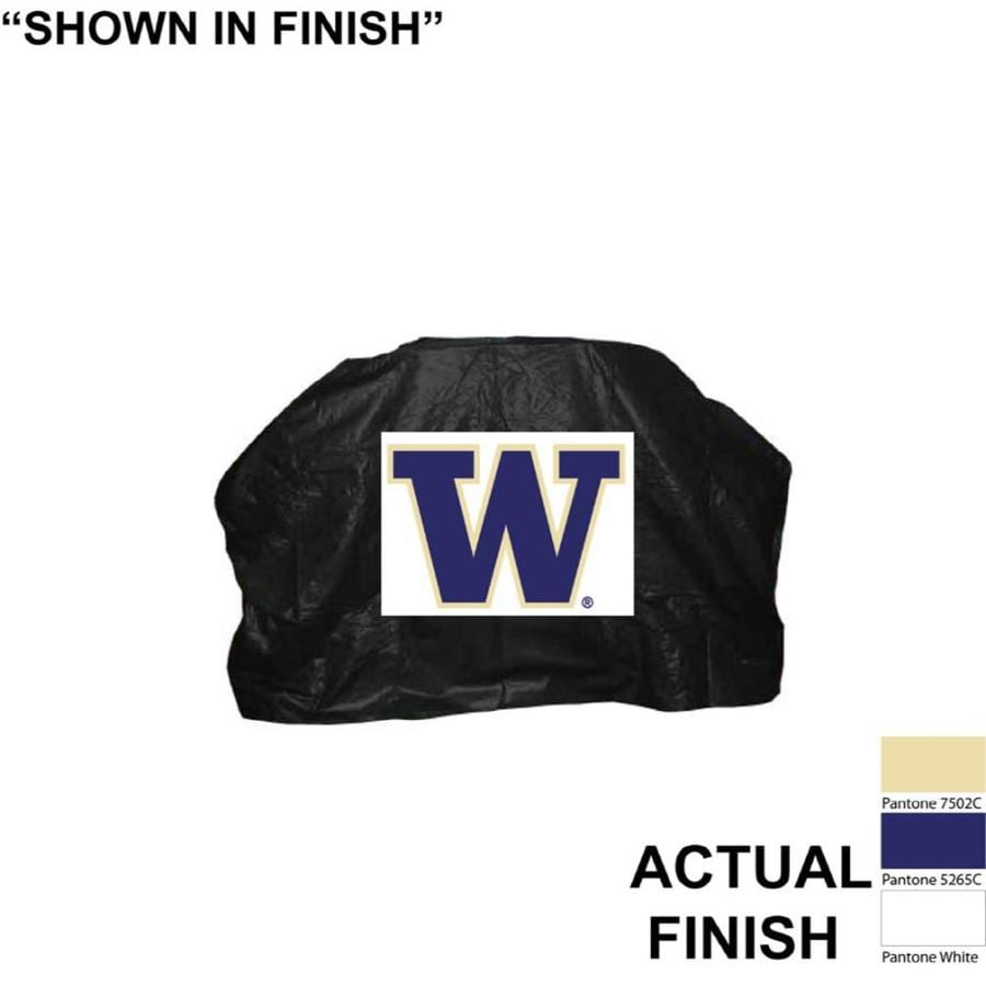 Seasonal Designs, Inc. 68-in x 43-in Vinyl Washington Huskies Cover