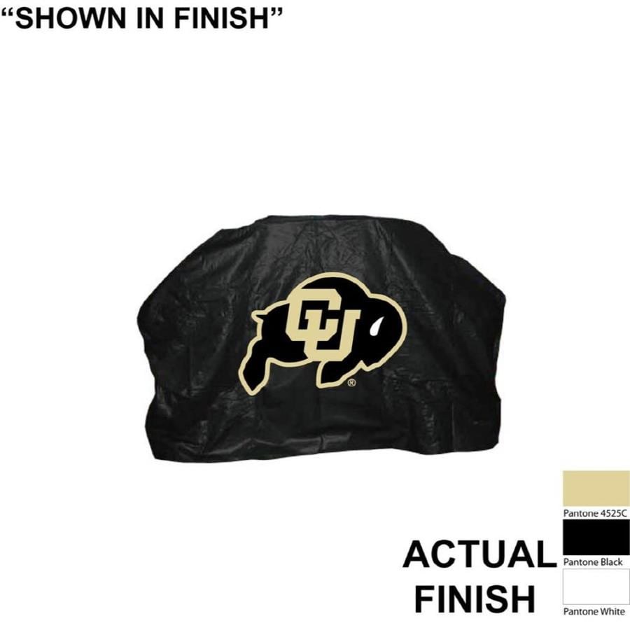 Seasonal Designs, Inc. 68-in x 43-in Vinyl Colorado Buffaloes Cover