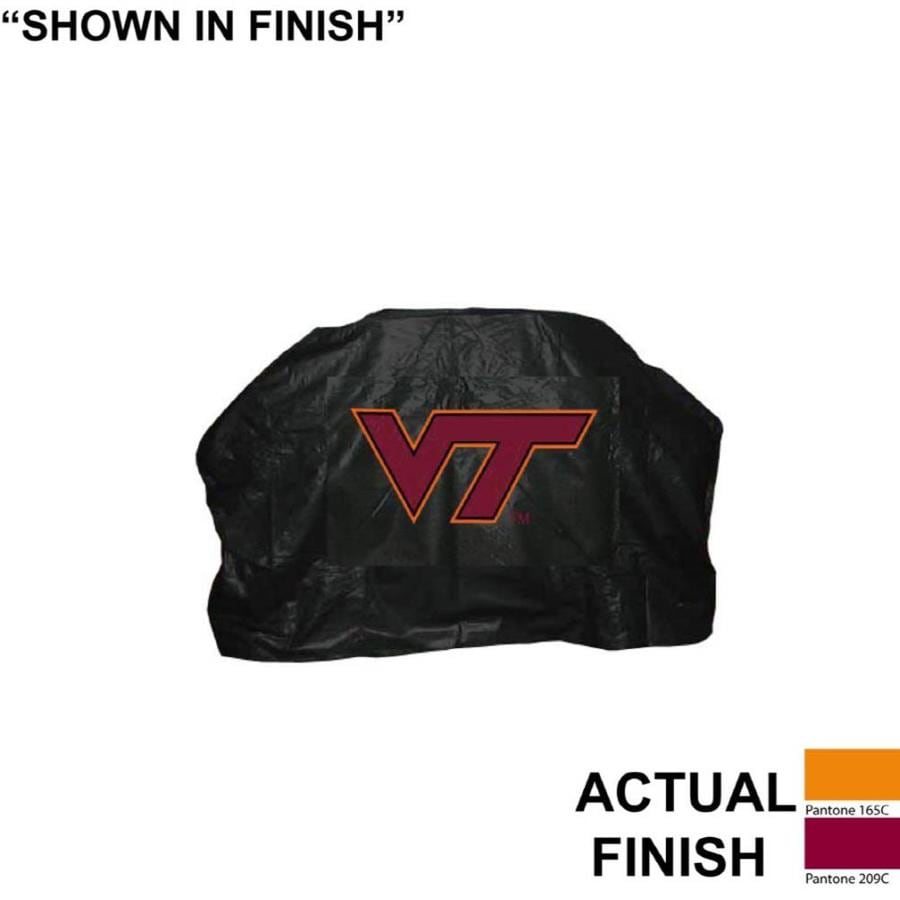 Seasonal Designs, Inc. 68-in x 43-in Vinyl Virginia Tech Hokies Cover