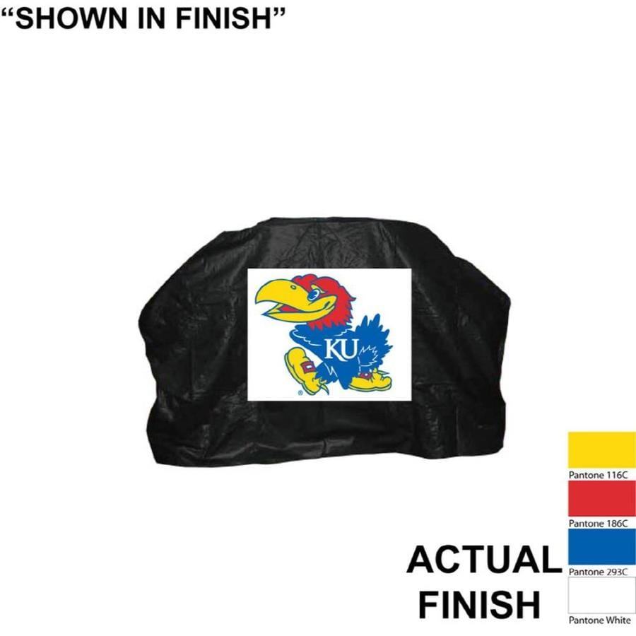 Seasonal Designs, Inc. Kansas Jayhawks Vinyl 68-in Cover