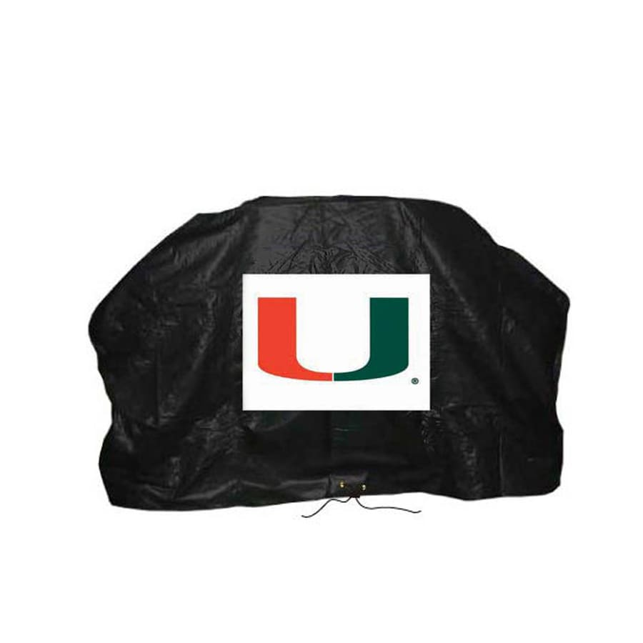 Seasonal Designs, Inc. Miami Hurricanes Collegiate Vinyl 68-in Cover