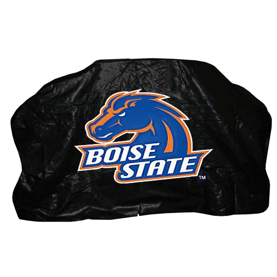 Seasonal Designs, Inc. 68-in x 43-in Blue Vinyl Boise State Gas Grill Cover