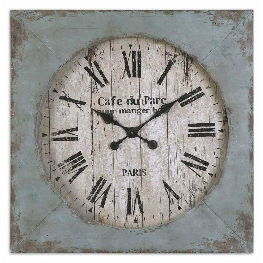 Global Direct Analog Square Indoor Wall Clock