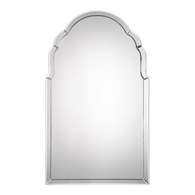 Oval Beveled Mirror Polished Wall