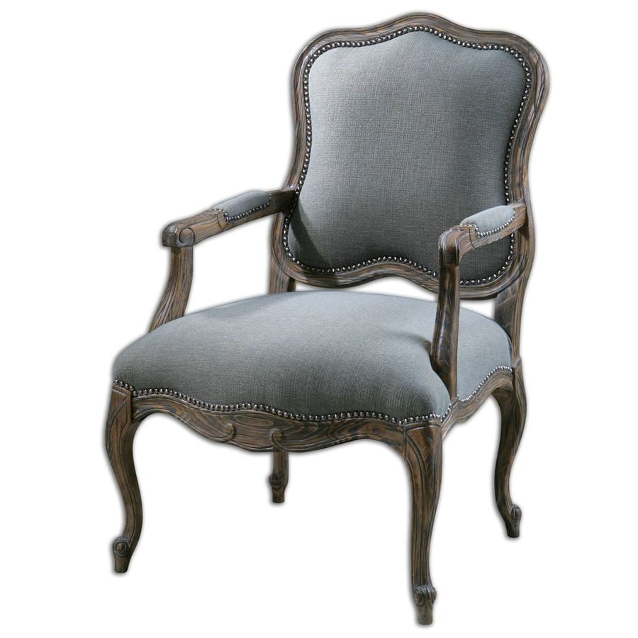Global Direct Gray Accent Chair