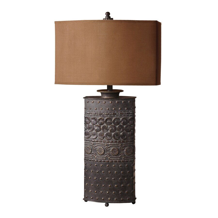 Global Direct 34-in 3-way Table Lamp with Fabric Shade