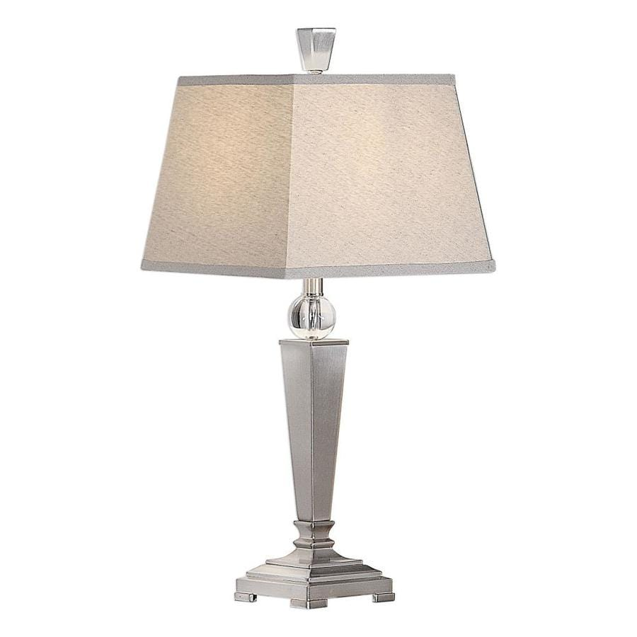 Global Direct 29 In Brushed Nickel With Crystal Accent