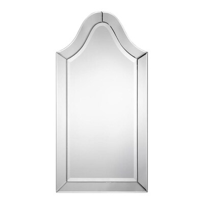 W Arch Beveled Mirror Framed Wall